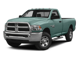 Light Green 2014 Ram Truck 2500 Pictures 2500 Regular Cab Tradesman 4WD photos front view