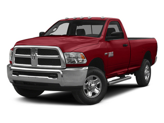Flame Red Clearcoat 2014 Ram Truck 2500 Pictures 2500 Regular Cab Tradesman 4WD photos front view