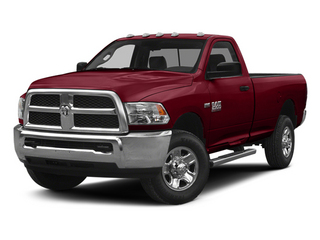 Deep Cherry Red Crystal Pearlcoat 2014 Ram Truck 2500 Pictures 2500 Regular Cab Tradesman 4WD photos front view