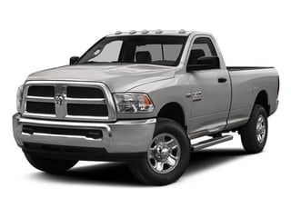 Bright Silver Metallic Clearcoat 2014 Ram Truck 2500 Pictures 2500 Regular Cab Tradesman 4WD photos front view
