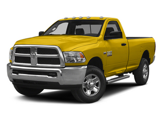 Detonator Yellow Clearcoat 2014 Ram Truck 2500 Pictures 2500 Regular Cab Tradesman 4WD photos front view