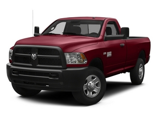 Deep Cherry Red Crystal Pearlcoat 2014 Ram 3500 Pictures 3500 Regular Cab SLT 4WD photos front view