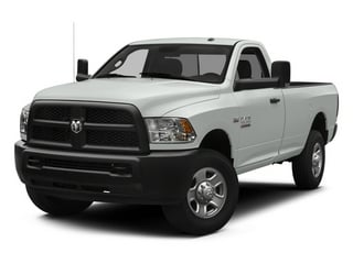 Bright White Clearcoat 2014 Ram 3500 Pictures 3500 Regular Cab SLT 4WD photos front view