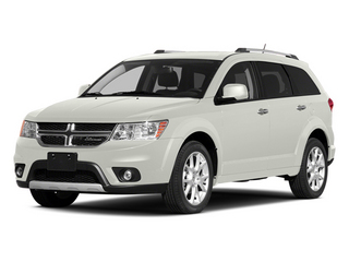 White 2014 Dodge Journey Pictures Journey Utility 4D Crossroad AWD photos front view