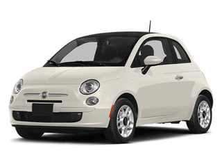 Bianco (White) 2014 FIAT 500 Pictures 500 Hatchback 3D Pop I4 photos front view