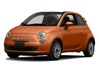 Rame (Copper) 2014 FIAT 500c Pictures 500c Convertible 2D Lounge I4 photos front view
