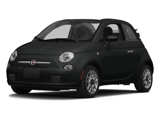Nero Puro (Straight Black) 2014 FIAT 500c Pictures 500c Convertible 2D Lounge I4 photos front view