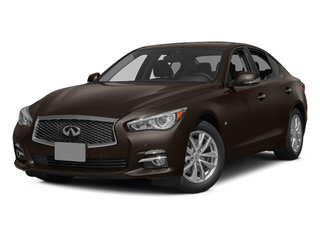 Chestnut Bronze 2014 INFINITI Q50 Pictures Q50 Sedan 4D Sport V6 photos front view