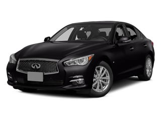 Malbec Black 2014 INFINITI Q50 Pictures Q50 Sedan 4D AWD V6 photos front view