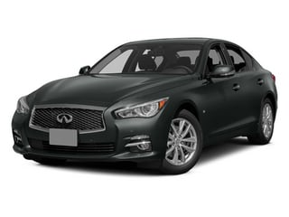 Graphite Shadow 2014 INFINITI Q50 Pictures Q50 Sedan 4D Premium V6 photos front view