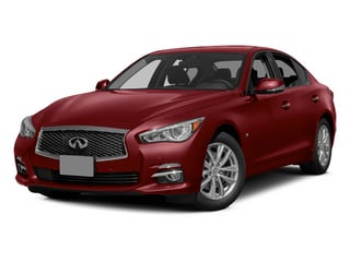 Venetian Ruby 2014 INFINITI Q50 Pictures Q50 Sedan 4D Premium V6 photos front view