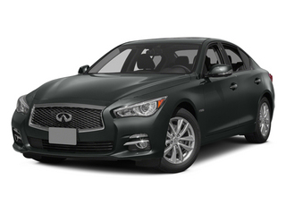 Graphite Shadow 2014 INFINITI Q50 Pictures Q50 Sedan 4D Premium V6 Hybrid photos front view