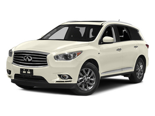 Moonlight White 2014 INFINITI QX60 Pictures QX60 Utility 4D 2WD V6 photos front view