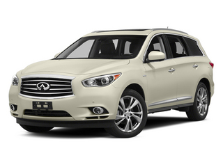 Moonlight White 2014 INFINITI QX60 Pictures QX60 Utility 4D Hybrid AWD I4 photos front view