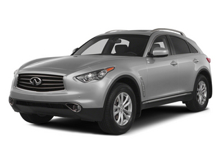 Liquid Platinum 2014 INFINITI QX70 Pictures QX70 Utility 4D AWD V8 photos front view
