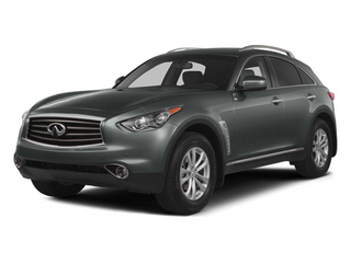 Graphite Shadow 2014 INFINITI QX70 Pictures QX70 Utility 4D AWD V8 photos front view