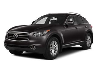 Midnight Mocha 2014 INFINITI QX70 Pictures QX70 Utility 4D AWD V6 photos front view