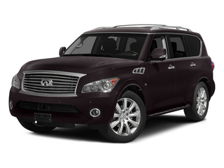 Dark Currant 2014 INFINITI QX80 Pictures QX80 Utility 4D 2WD V8 photos front view