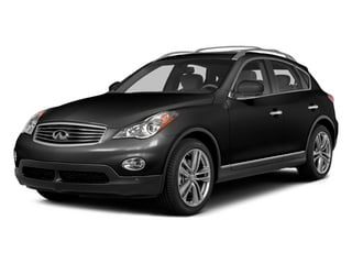 Black Obsidian 2014 INFINITI QX50 Pictures QX50 Utility 4D Journey AWD V6 photos front view