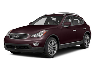 Midnight Garnet 2014 INFINITI QX50 Pictures QX50 Utility 4D Journey AWD V6 photos front view