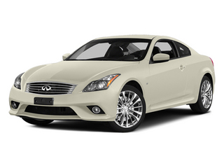 Moonlight White 2014 INFINITI Q60 Coupe Pictures Q60 Coupe 2D Sport V6 photos front view