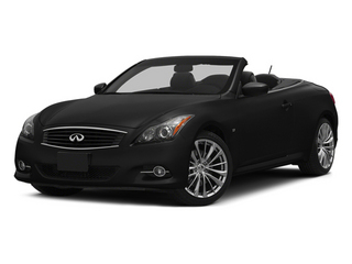 Black Obsidian 2014 INFINITI Q60 Convertible Pictures Q60 Convertible Convertible 2D Sport V6 photos front view
