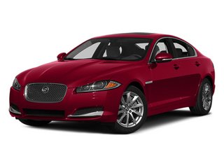 Carnelian Red Metallic 2014 Jaguar XF Pictures XF Sedan 4D I4 Turbo photos front view