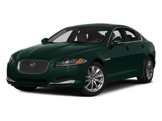 British Racing Green 2014 Jaguar XF Pictures XF Sedan 4D I4 Turbo photos front view