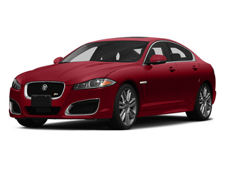 Italian Racing Red 2014 Jaguar XF Pictures XF Sedan 4D XFR-S V8 Supercharged photos front view