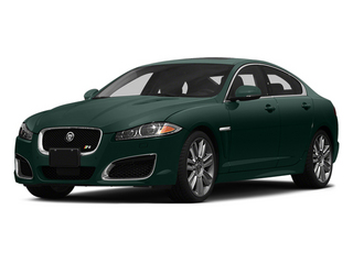 British Racing Green 2014 Jaguar XF Pictures XF Sedan 4D XFR V8 Supercharged photos front view