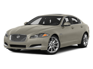 Cashmere Metallic 2014 Jaguar XF Pictures XF Sedan 4D AWD V6 Supercharged photos front view