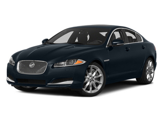 Dark Sapphire Metallic 2014 Jaguar XF Pictures XF Sedan 4D V6 Supercharged photos front view