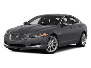 Lunar Gray Metallic 2014 Jaguar XF Pictures XF Sedan 4D V6 Supercharged photos front view