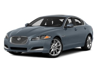 Satellite Gray Metallic 2014 Jaguar XF Pictures XF Sedan 4D V6 Supercharged photos front view