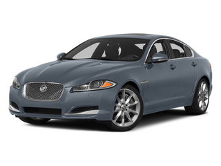 Satellite Gray Metallic 2014 Jaguar XF Pictures XF Sedan 4D AWD V6 Supercharged photos front view