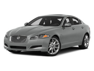 Rhodium Silver Metallic 2014 Jaguar XF Pictures XF Sedan 4D AWD V6 Supercharged photos front view