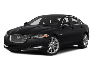 Ebony 2014 Jaguar XF Pictures XF Sedan 4D V6 Supercharged photos front view