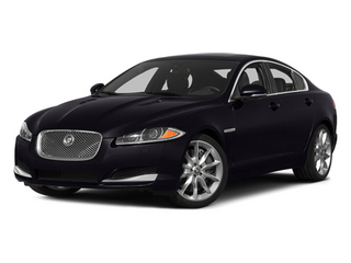 Ultimate Black Metallic 2014 Jaguar XF Pictures XF Sedan 4D V6 Supercharged photos front view