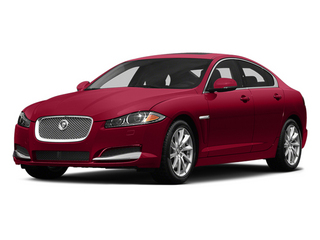 Carnelian Red Metallic 2014 Jaguar XF Pictures XF Sedan 4D V8 Supercharged photos front view