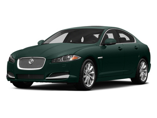 British Racing Green 2014 Jaguar XF Pictures XF Sedan 4D V8 Supercharged photos front view