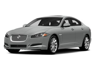 Rhodium Silver Metallic 2014 Jaguar XF Pictures XF Sedan 4D V8 Supercharged photos front view
