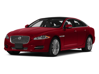 Italian Racing Red 2014 Jaguar XJ Pictures XJ Sedan 4D L XJR V8 Supercharged photos front view