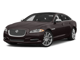 Caviar Metallic 2014 Jaguar XJ Pictures XJ Sedan 4D L Portolio V6 photos front view