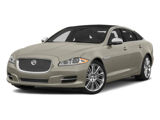 Cashmere Metallic 2014 Jaguar XJ Pictures XJ Sedan 4D L Portolio V6 photos front view