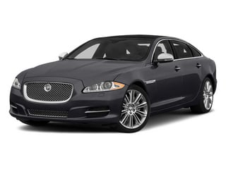 Stratus Grey Metallic 2014 Jaguar XJ Pictures XJ Sedan 4D L Portolio V6 photos front view