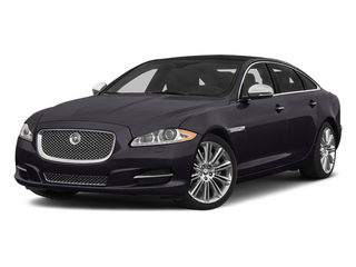 Ultimate Black Metallic 2014 Jaguar XJ Pictures XJ Sedan 4D L Portolio V6 photos front view