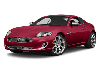 Carnelian Red Metallic 2014 Jaguar XK Pictures XK Coupe 2D V8 photos front view