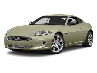 Cashmere Metallic 2014 Jaguar XK Pictures XK Coupe 2D V8 photos front view