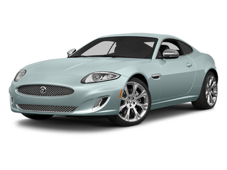 Crystal Blue Metallic 2014 Jaguar XK Pictures XK Coupe 2D V8 photos front view