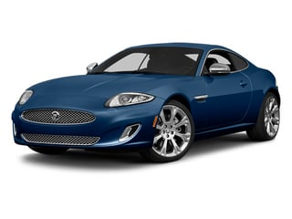 Indigo Blue Metallic 2014 Jaguar XK Pictures XK Coupe 2D V8 photos front view